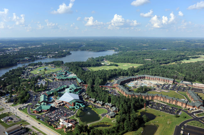 Wilderness Resort Aerial - Photo credit Wilderness Resort