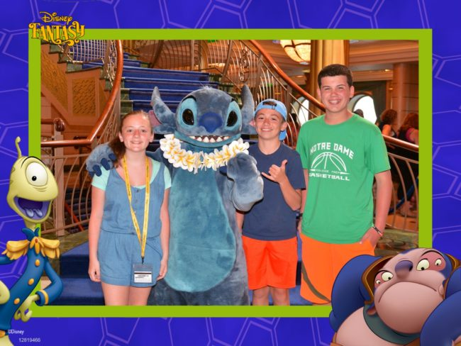 Teenagers on Disney Cruise Line