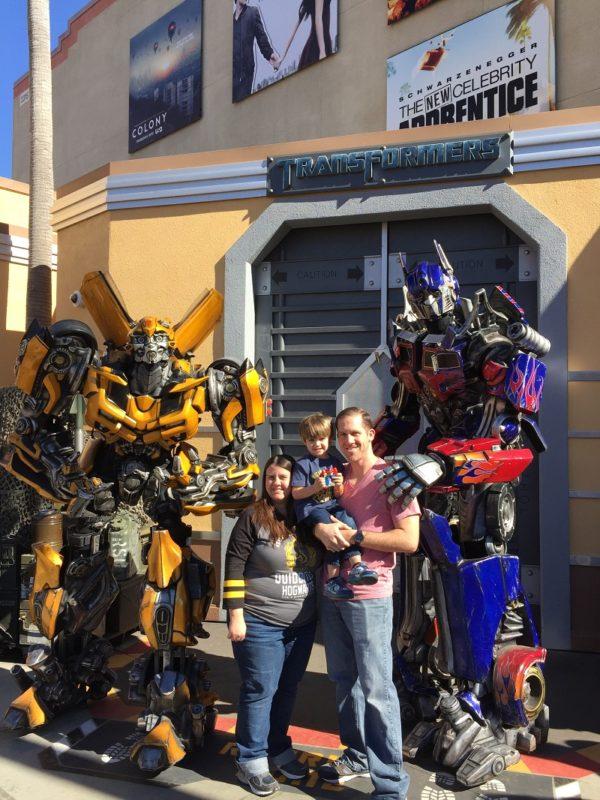 Characters at Universal Studios Hollywood