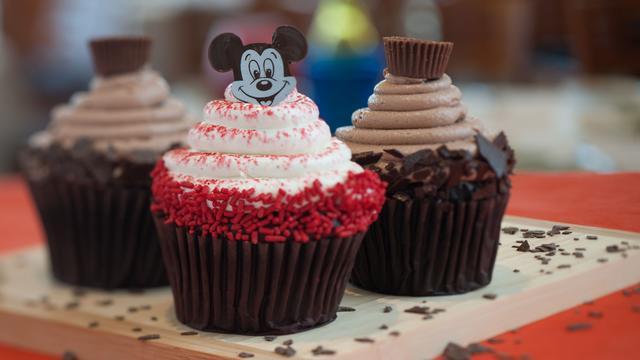 Contempo Cafe cupcakes-Photo credit Disney