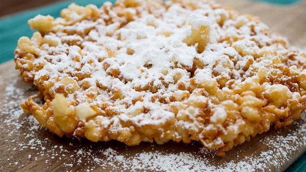 Sweets from Funnel Cake Cart