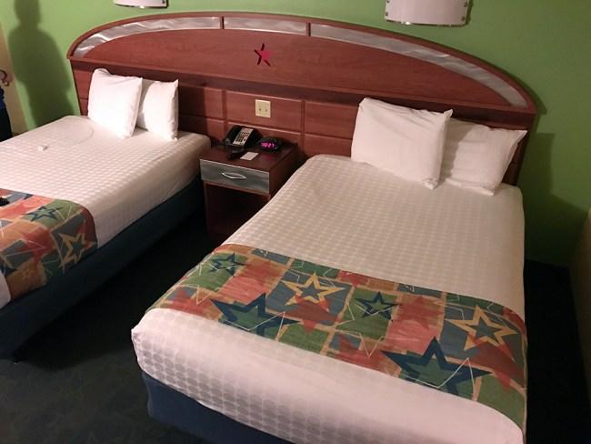 Standard Guest room at Disney's All-Star Music, a Walt Disney World Value Resort. Photo credit: Rachel Horsley