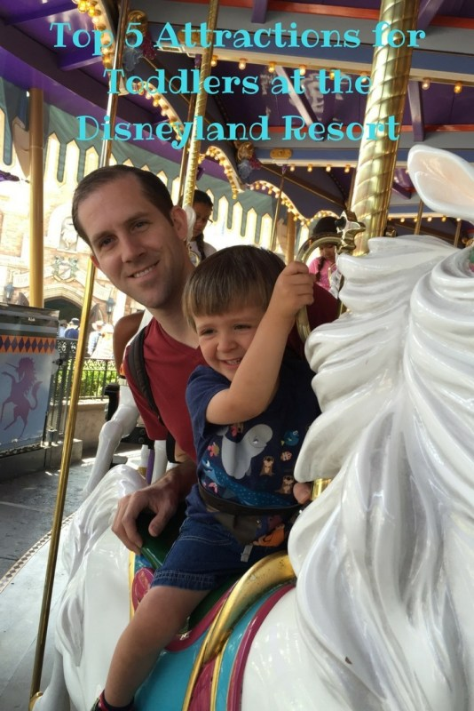 Top 5 Attractions for Toddlers at the Disneyland Resort