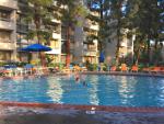 Howard Johnson Pool - Choosing hotel at Disneyland