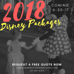 2018 Disney World Packages