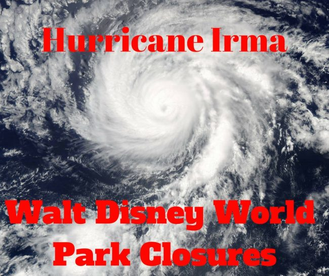 Hurricane Irma closes Disney World