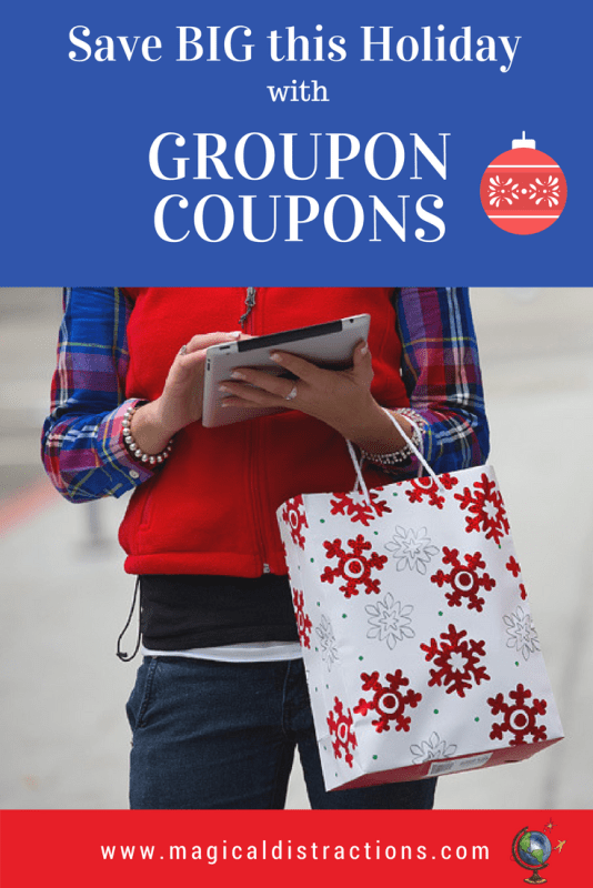 Groupon Coupons is the best place to save money with your holiday shopping.