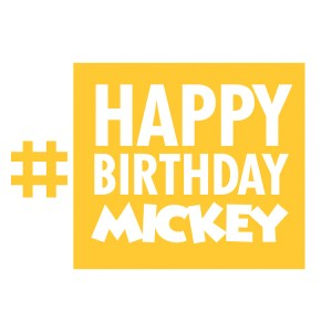 Find out how you can be a part of Mickey's birthday celebration. #HappyBirthdayMickey