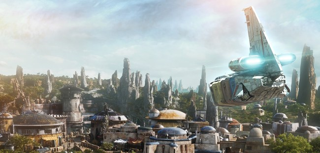 Visit Batuu aboard Star Tours at the Galactic Nights event.