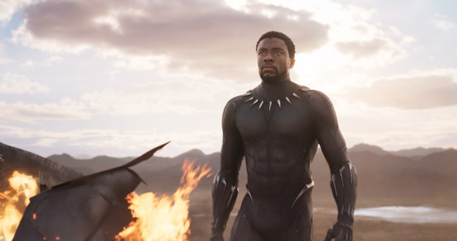 Black Panther in theaters Feb. 2018