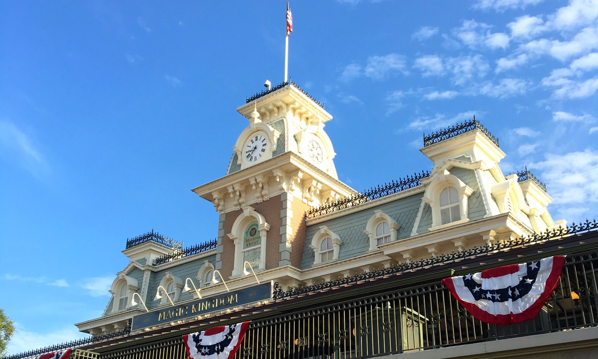 Disney World, Magic Kingdom, Disney Railroad