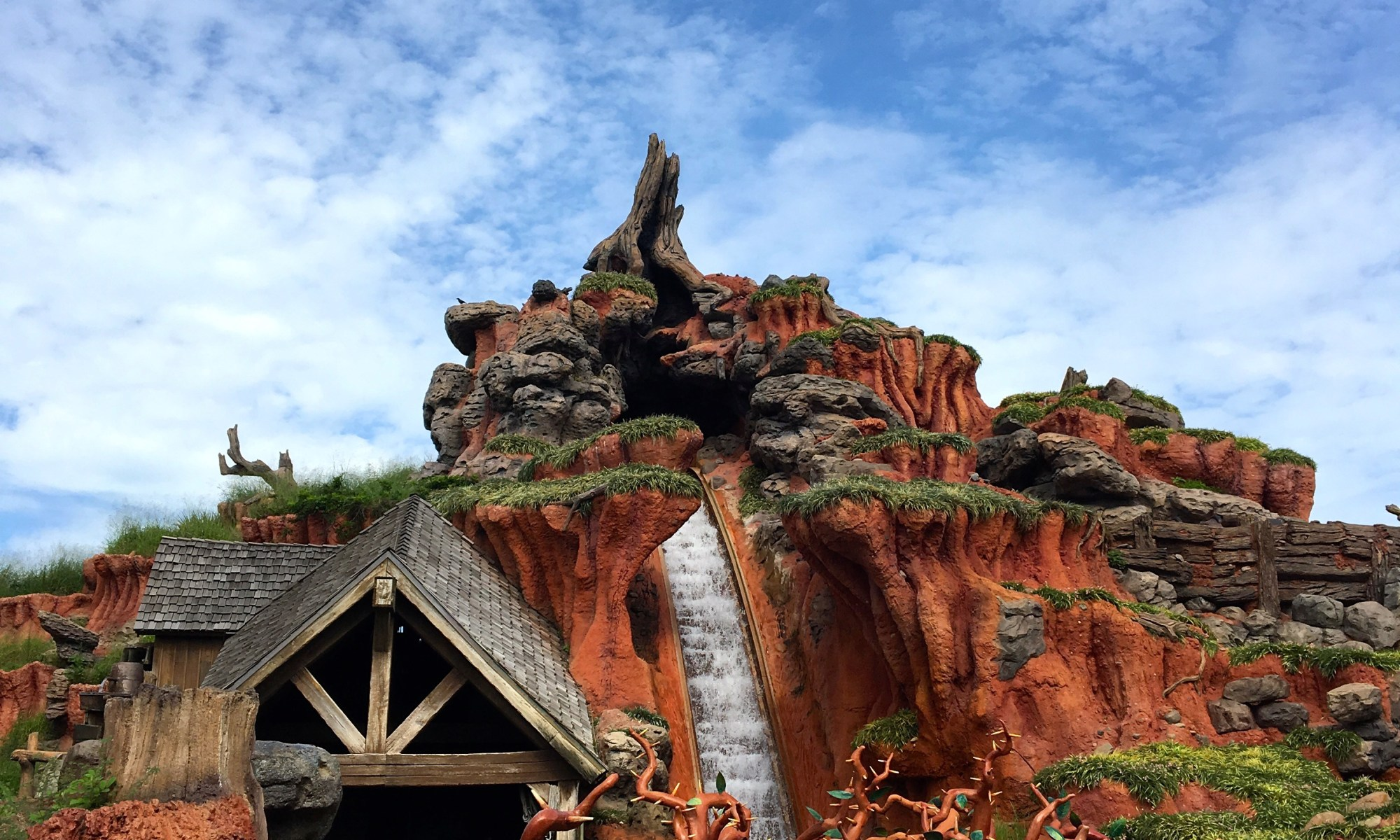 Disney World, Magic Kingdom, Splash Mountain, Ziploc