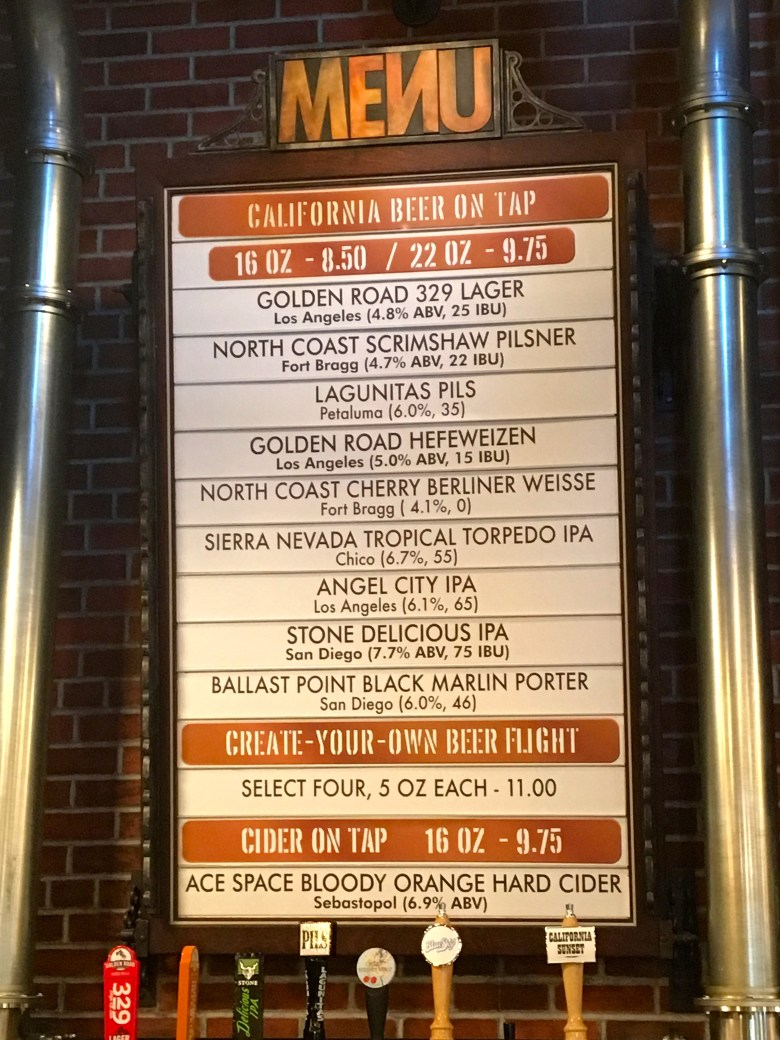 Walt Disney World, Hollywood Studios, BaseLine Tap House