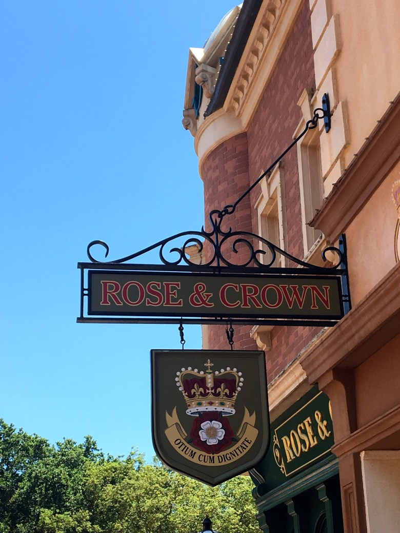 Walt Disney World, Epcot, Rose & Crown Pub