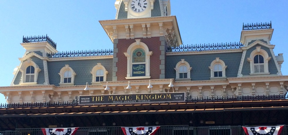 Walt Disney World, Magic Kingom, Walt Disney World Railroad