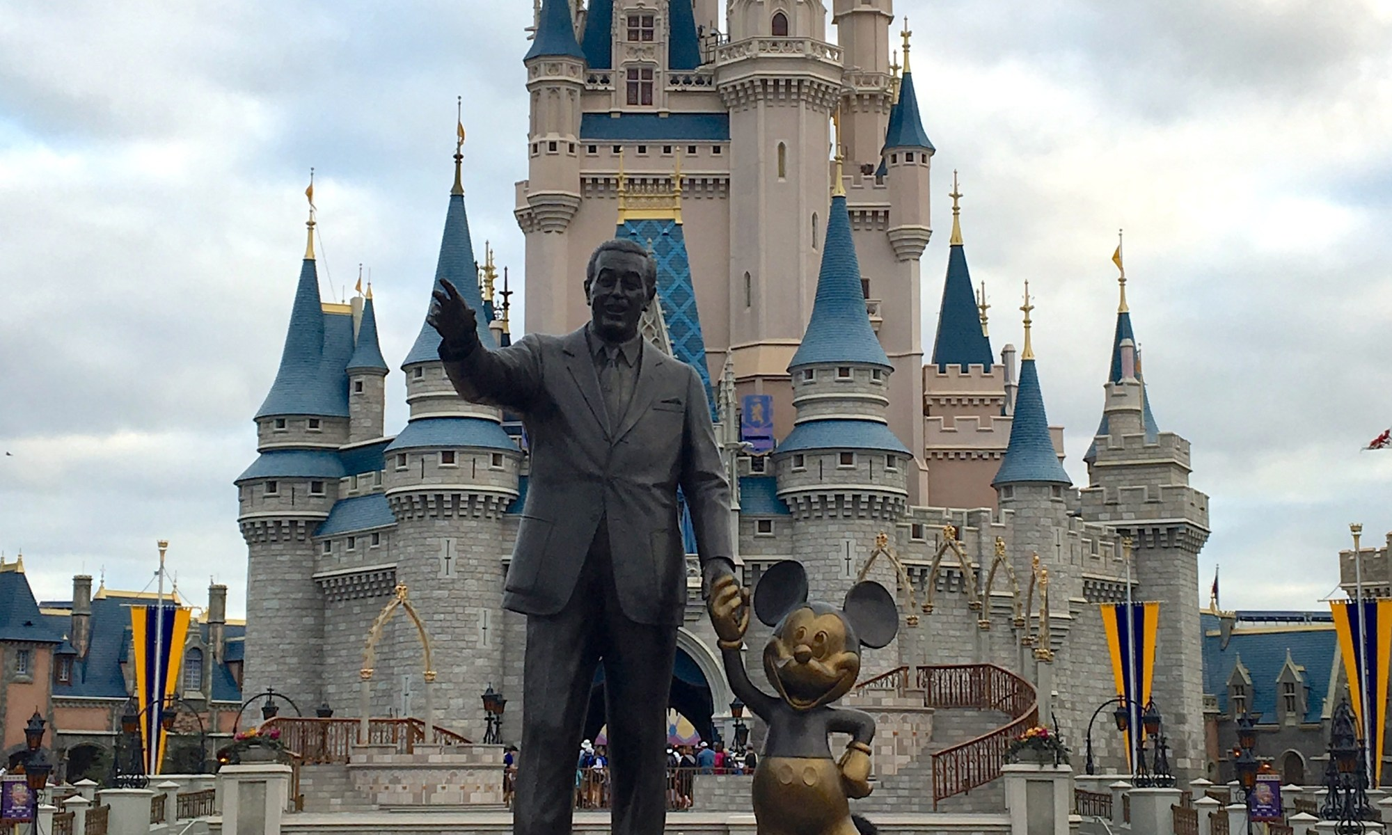 Walt Disney World, Mickey Mouse, Partners Statue, Magic Kingdom