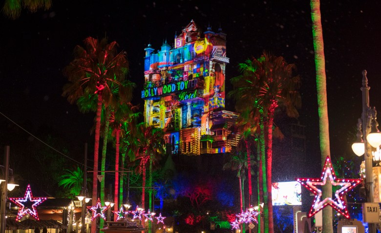 Photo of Sunset Seasons Greetings at Hollywood Studios