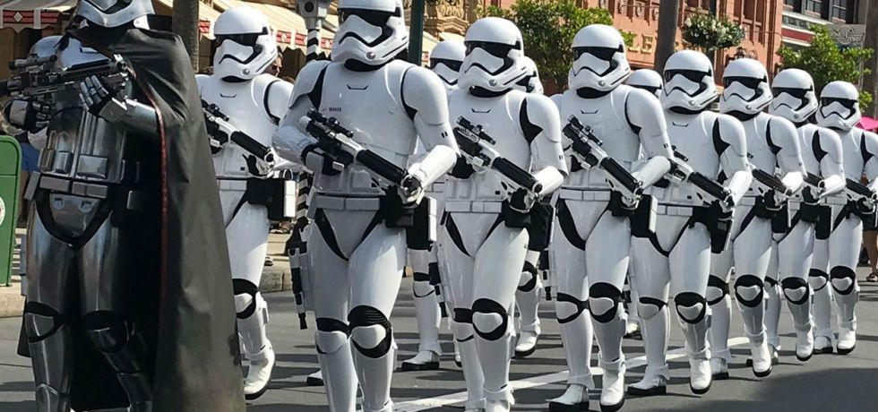 Photo of March of the First Order at Hollywood Studios