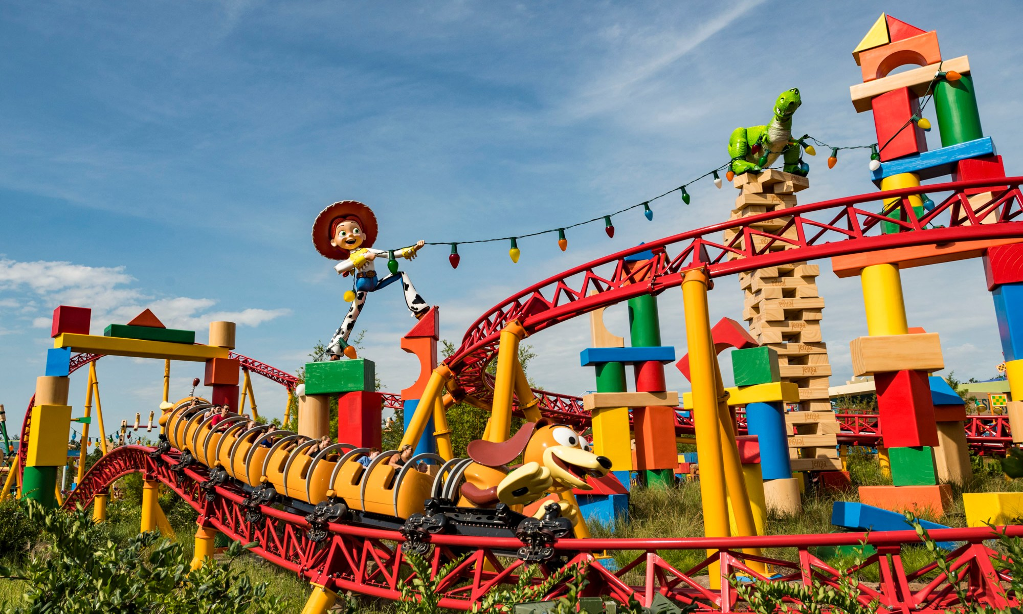 Photo of Slinky Dog Dash in Toy Story Land