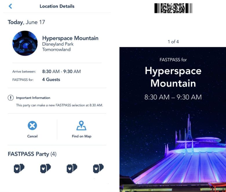 Photo of Hypserspace Mountain MaxPass
