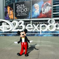 Photo of Mickey Mouse at D23 Expo