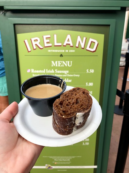 Photo of Ireland booth at Epcot Food & Wine