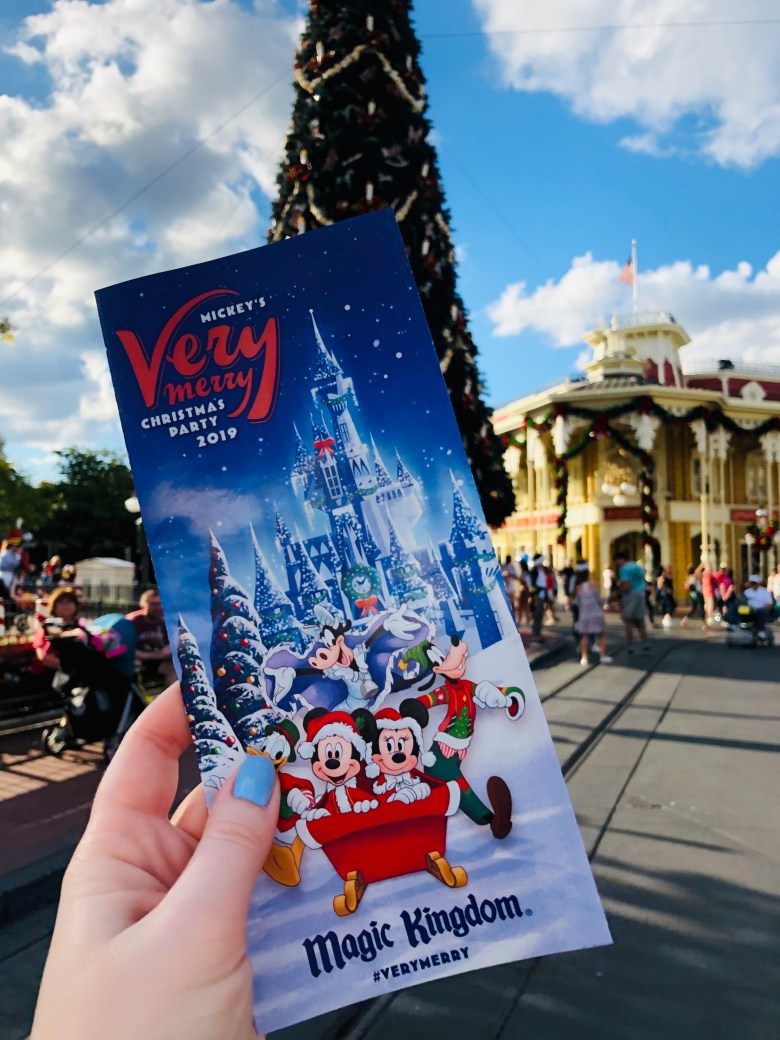 Photo of Mickey's Very Merry Christmas Party map