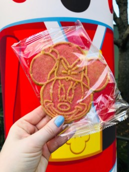 Photo of Mickey's Very Merry Christmas Party welcome cookie