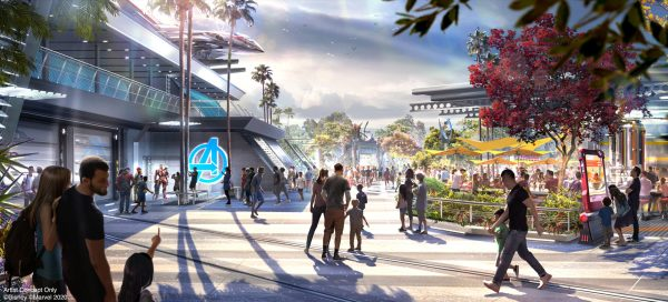 Photo of Avengers Campus concept Art