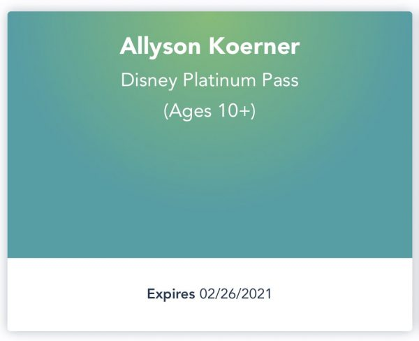 Photo of Walt Disney World Annual Pass date extension
