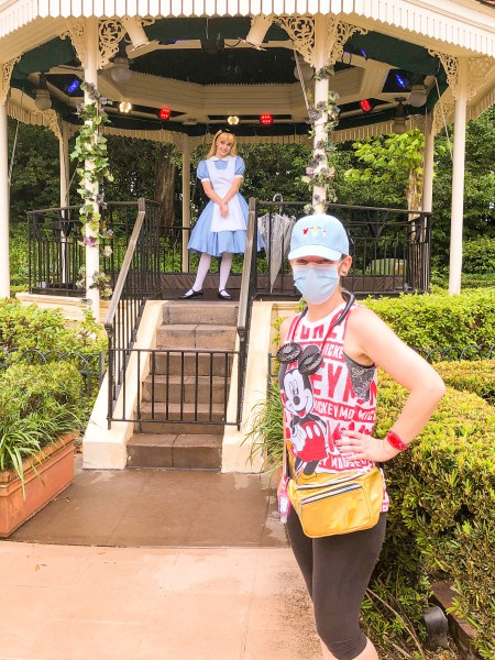 Alice in Wonderland at Epcot
