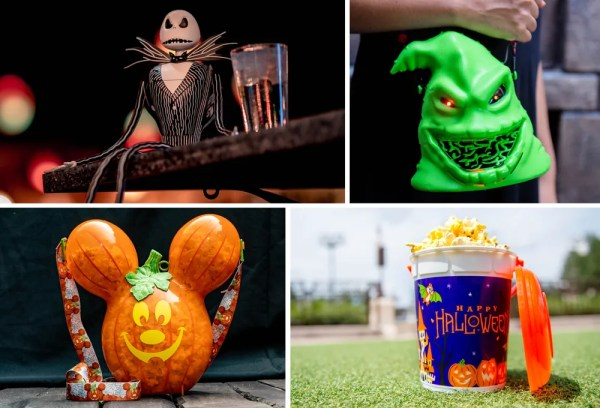 Walt Disney World Halloween popcorn buckets
