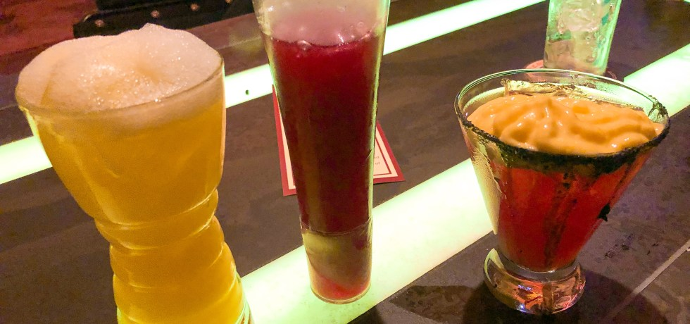 Drinks at Oga's Cantina in Galaxy's Edge