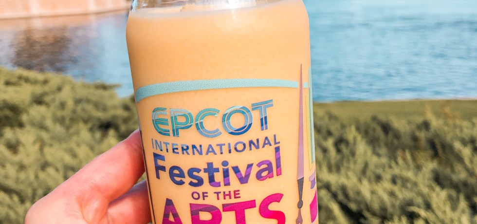 2021 Festival of the Arts passion fruit and coconut smoothie