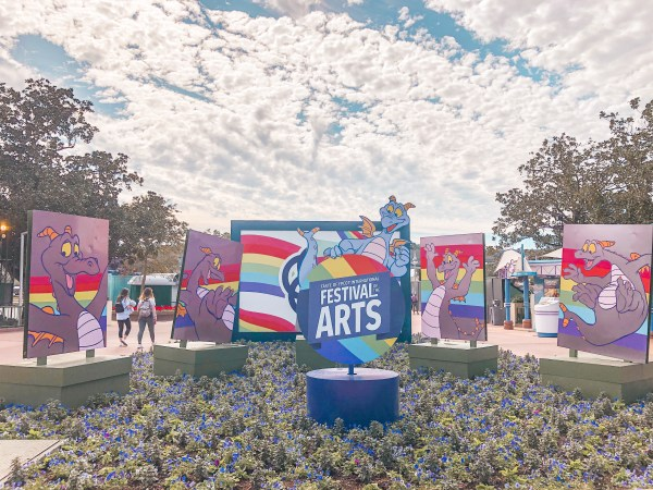 2021 festival of the arts sign with figment