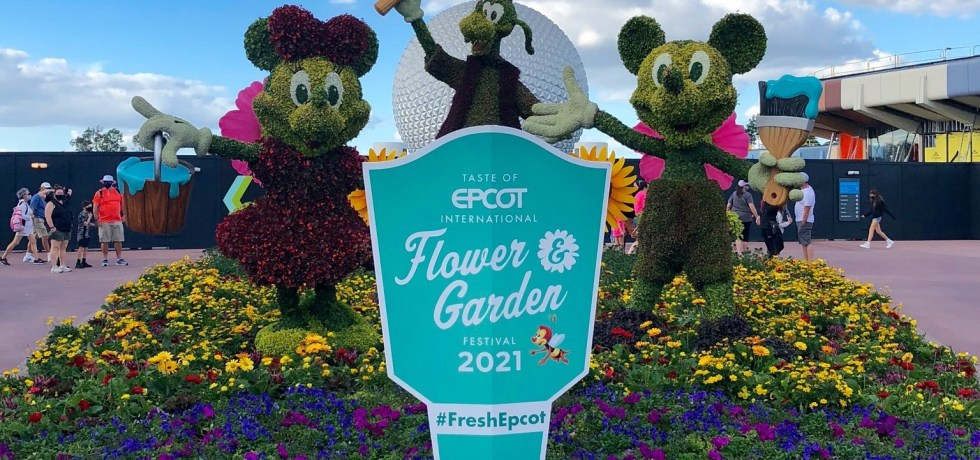 2021 epcot flower and garden festival