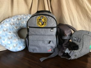 baby packing backpack suitcase vacation travel airport tsa security