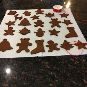 magical mama blog applesauce cinnamon ornaments baked christmas tree