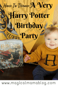 How To Throw a Very Harry Potter Birthday Party - Magical Mama Blog