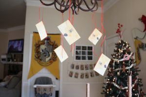 magical mama blog harry potter first birthday party hogwarts envelopes