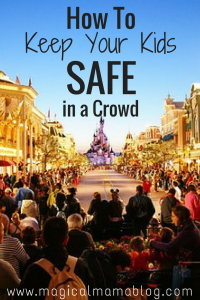 How To Keep Your Kids Safe in A Crowd - Magical Mama Blog