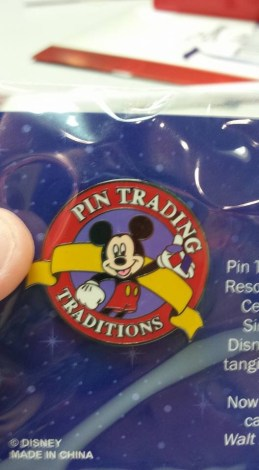 Pin Trading Traditions special cast member pin