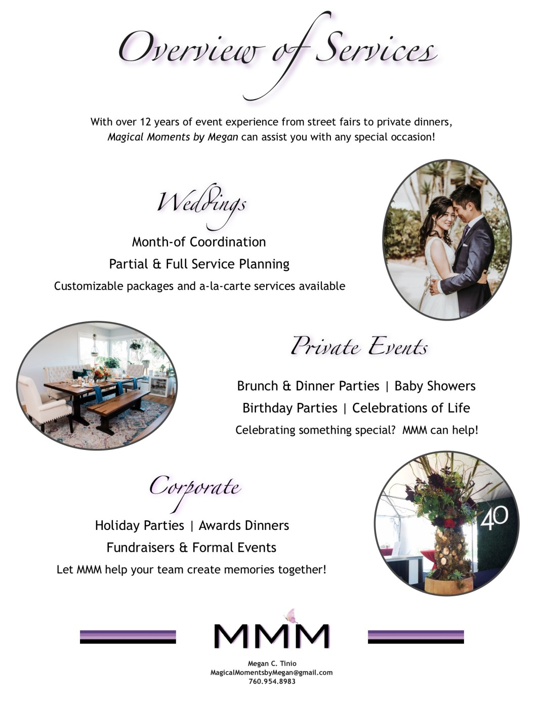 Magical Moments by Megan - Company Information Packet_3