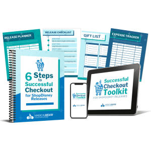 Successful Checkout Toolkit for shopDisney Releases