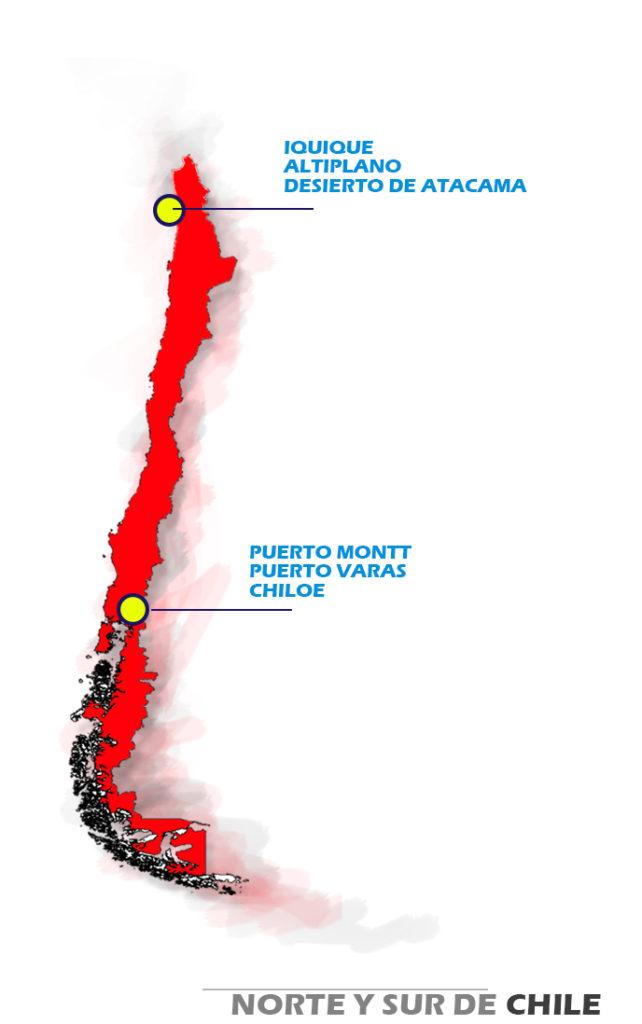 tours y viajes por Chile