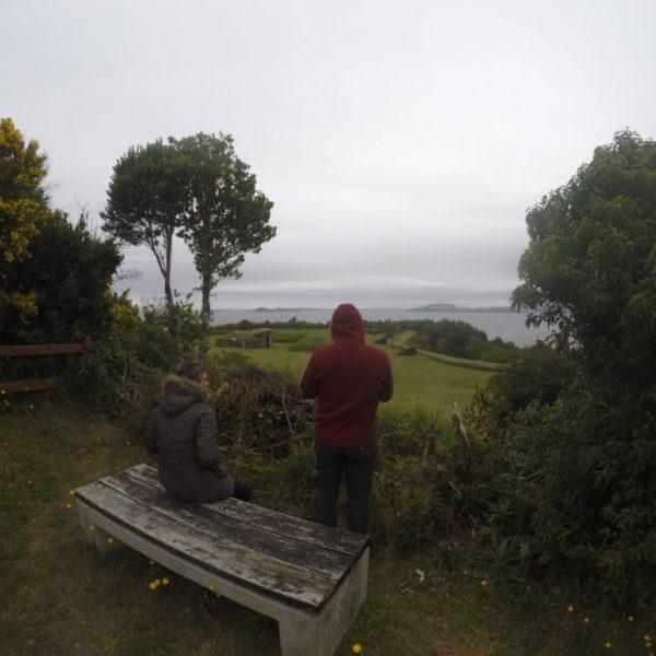 vista al Canal de Chacao y Bahia de Ancud