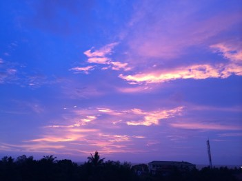 Sunset in Sihanoukville (no filter)