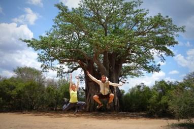 Jumping for Baobab Tree