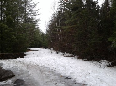 Kancamagus Highway_Rocky Gorge_snow