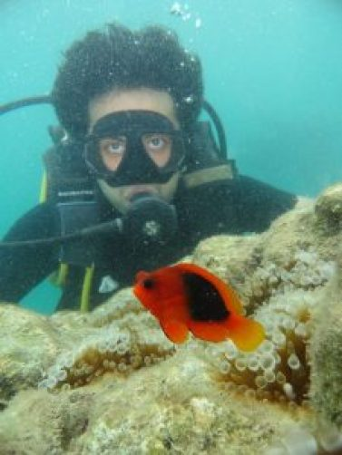 Scuba diving experience in Andaman, India